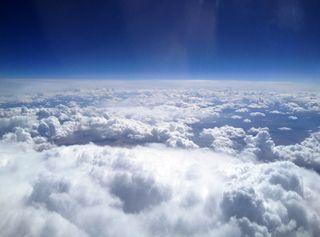 Jet Charter Clouds Sky